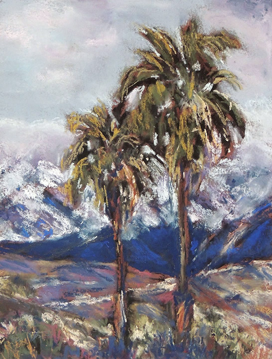 Snow in Palm Springs